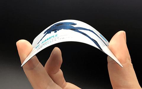 0.5透明カード透け写真