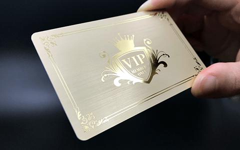 0.76ヘアラインカード反射写真