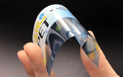 PET透明カード質感写真